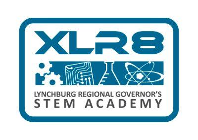 wiselywoven_XLR8-stem-education-logo-design_lynchburg-virginia