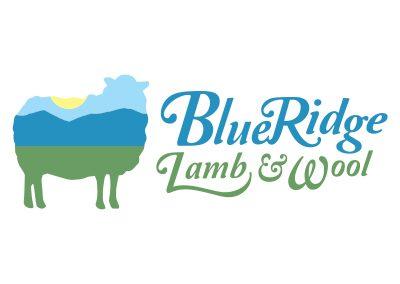 wiselywoven_blue-ridge-lamb-n-wool_logo-design_bedford-virginia