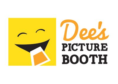 wiselywoven_dees-picture-booth_logo-design_virginia
