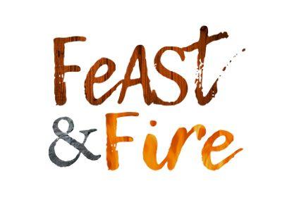 wiselywoven_feast-n-fire_logo-design