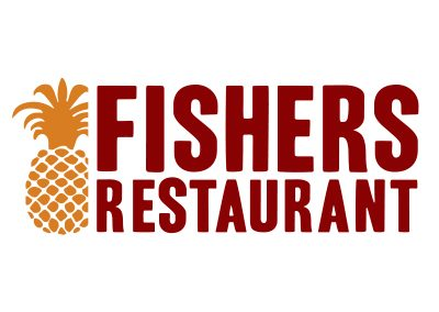 wiselywoven_fishers-restaurant_logo-design_bedford-virginia
