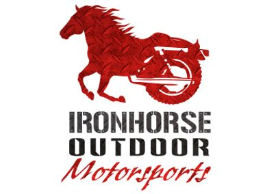 wiselywoven_ironhorse-outdoor-motorsports_logo-design