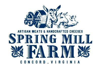 wiselywoven_spring-mill-farm_logo-design_virginia