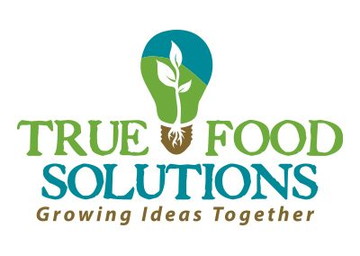 wiselywoven_true-food-solutions-logo-design