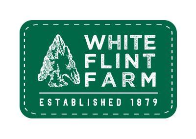 wiselywoven_white-flint-farm_logo-design-virginia